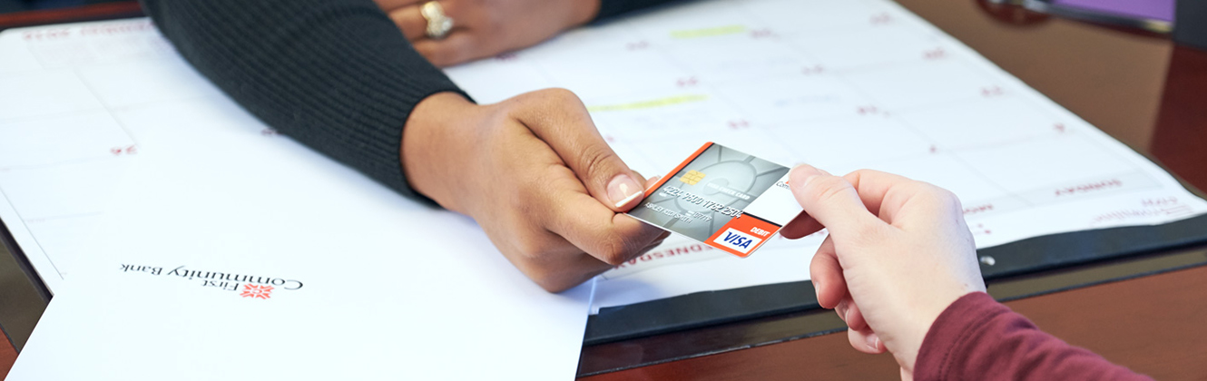 Debit Cards › First Community Bank